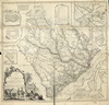 Cook james map of the province of south carolina loc